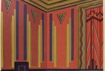 Art Deco men's room