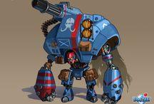 Character Design - Robots & Mechs