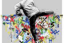 Street art Martin Watson