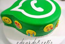 watsapp cake