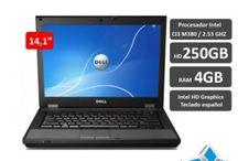 Portátiles Dell / Ordenadores portátiles Dell de segunda mano con 1 año de garantía.