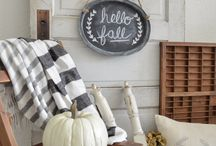 Farmhouse Fall Decor