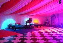 Marquee Dance Floors / Ideas for marquee dancefloors