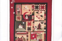Christmas Quilt-Love / by Tracy Wright