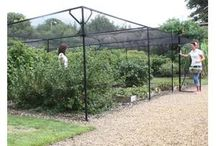 Fruit Cages / As a UK manufacturer our wide range of fruit cages in steel, aluminium and timber and made to last garden netting saver packs will help you to protect from birds, pests and animals.