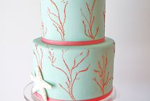 Mariage corail et turquoise / Coral and blue beach wedding