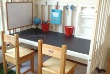 Upcycle The Nursery  / Fun ways to recycle that old nursery furniture.