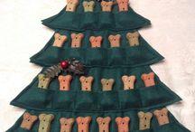 Dog Christmas / Новогодние украшения для зоогостиницы