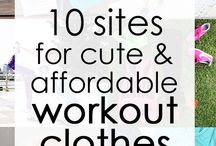 | Workout outfits