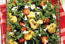 Salads / Salads and fruits