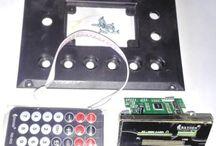 Paket module Mp3 Usb FM player DC5V [ model besar ]   bonus panel