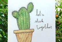 Making Cards magazine - INSPIRATION: Cactus themed cards