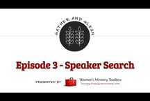 Gather and Glean Women's Ministry Show / Featuring episodes of the Gather and Glean show for women's ministry leaders. Each episode highlights an icebreaker, covers a publicity or organizational tip, answers a viewers question, shares a recommended resources, and a show and tell idea from another women's ministry leader.