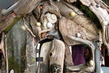 Fairy Houses/Gnome Houses/Gardens / by Herta