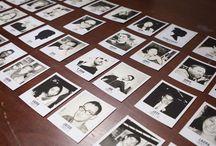 Bryllup trykksaker/ polaroid