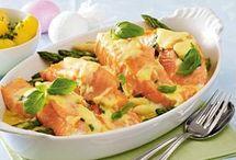 Fisch / Fisch mit Gemüse