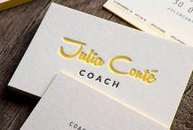 Coach follow'app branding / Recherche style graphique, minimal business card, black & white, logo minimalist
