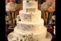 Bolo de Casamento / Wedding cake / by Samy Novaes