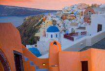 Santorini / Because God made you and threw away the mold!