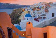 Santorini / Because God made you and threw away the mold!