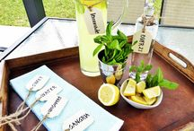 DIY Beverage Tags| Ballard Design / Simplicity at it's best! Super easy to make your own Beverage Tags.