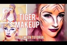 tiger makeup halloween