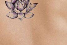 Lotusbloem tattoo