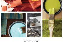 """My Valspar Board to Brush"""