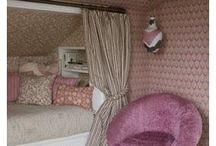 Attic girl room