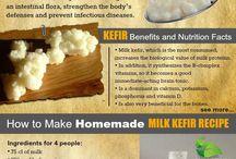 all about kefir milk