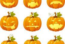 Halloween / M ideas for Halloween pumpkins!!!