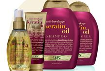 Keratin hair treatment