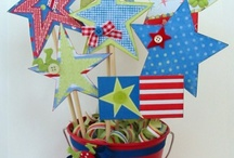 4th July paper crafts / by Mary Ann Collins
