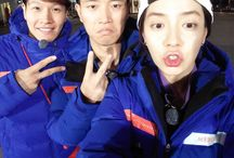 Running Man TV Show / A famous variety show in South Korea.