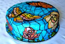 Stained glas cake
