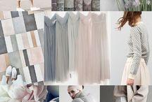Colour - pale and pastel / Flushes of colour, soft greys, pastels