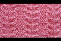 Вяжем спицами араны / Вяжем красивые узоры из жгутов и кос. How to Knit a Braid Cable Pattern. #араны