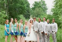 """Bridal Party / Photos featuring the entire bridal party. For more bridesmaids ideas check out the WeddingWise """"Bridesmaids"""" board."""