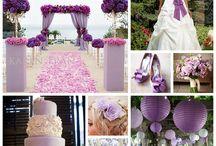 Lavender Wedding / Stylish and romantic lavender wedding ideas