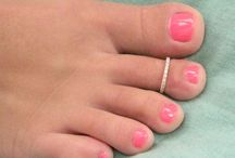 Toe rings and anklets / For toes and ankles