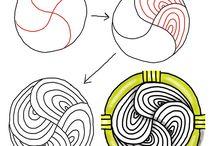 Zentangle how