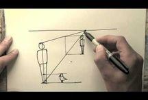 Desen In Creion