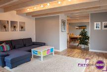 Home Staging bei bewohnten Immobilien / Beispiele von professionell herrgerichteten Immobilien (Home Staging), die während der Vermarktung bewohnt werden.