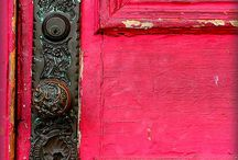 Old door knobs, knockers, and hardware / beautiful, unusual, and antique things for/from doors / by Debbie Myers-Herrin