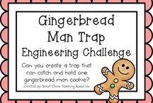 Gingerbread man / by Erika Kander