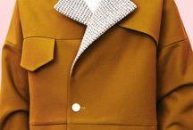 minimalist design men coats