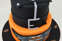 Motorcycle themed cakes and food! / We love food, and we love motorbikes... you get the ideas!