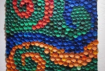Bottle tops art
