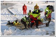 Winter / Ook in de winter staat de KNRM klaar voor o.a. ijsreddingen. / by KNRM Sea Rescue