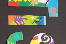 Collage / Man kann fast jedes Kind begeistern mit farbenfrohen Papierschnipseleien à la Matisse zu experimentieren.